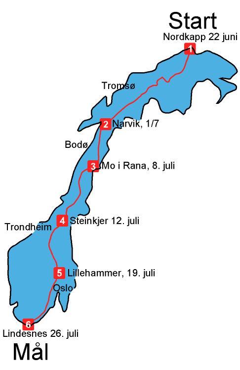 norge på langs kart Norge paa langs kartet | Skiopplevelser norge på langs kart